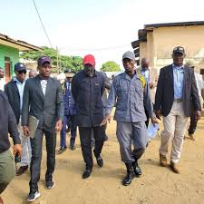 President Weah visits Monrovia Central Prison